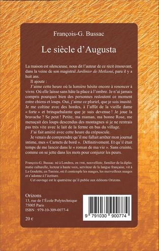 4eme Le siècle d'Augusta