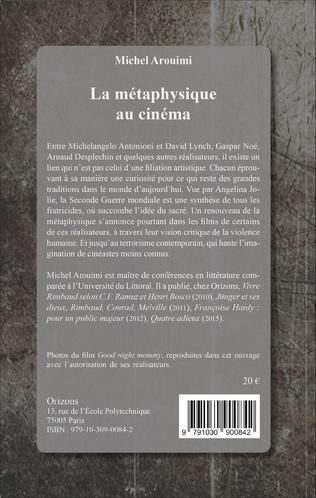 4eme La métaphysique au cinéma