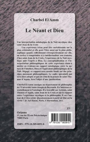 4eme Le Néant et Dieu