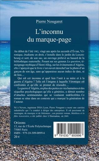 4eme L'inconnu du marque-page