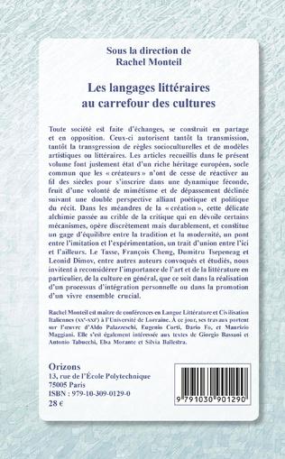 4eme Les langages littéraires au carrefour des cultures