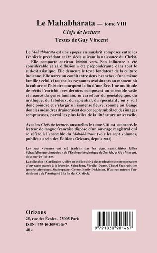4eme Le Mahabharata - Tome VIII