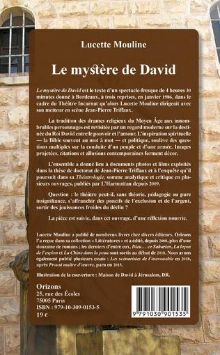 4eme Le mystère de David