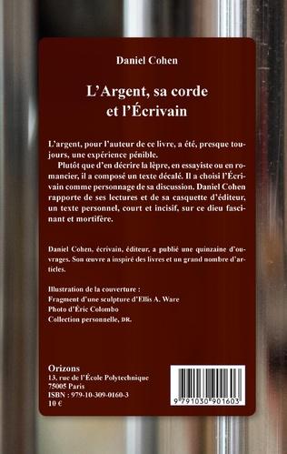 4eme L'Argent, sa corde et l'Écrivain