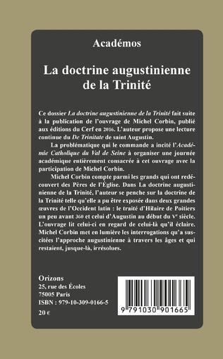4eme La doctrine augustinienne de la Trinité