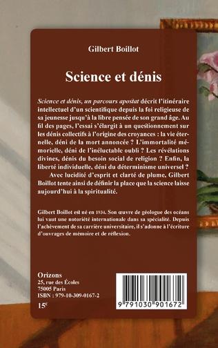 4eme Science et dénis