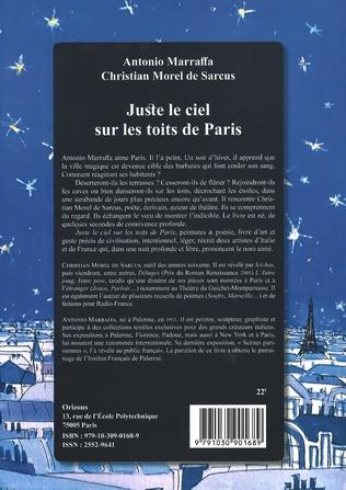 4eme Juste le ciel sur les toits de Paris