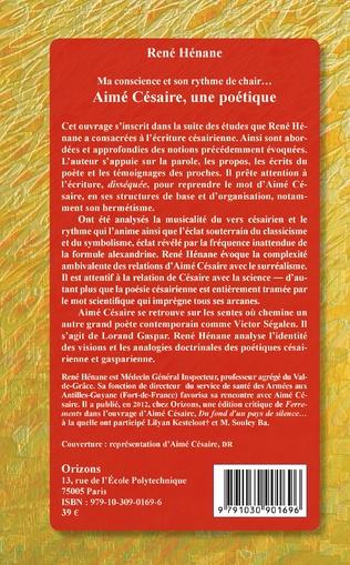 4eme Aimé Césaire, une poétique