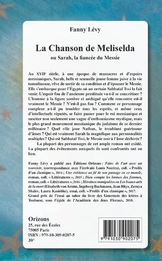 4eme La Chanson de Meliselda