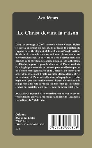 4eme Le Christ devant la raison