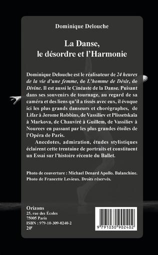 4eme La Danse, le désordre et l'Harmonie
