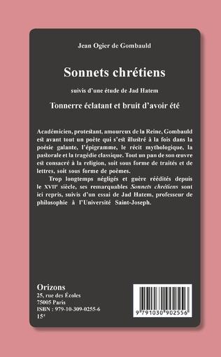 4eme Sonnets chrétiens