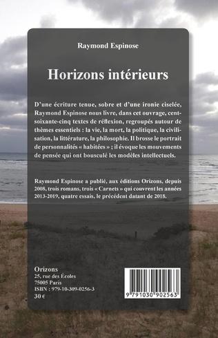 4eme Horizons intérieurs