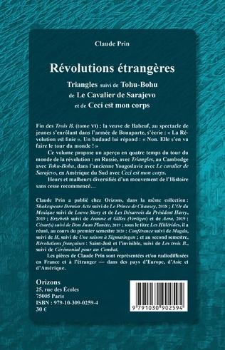4eme Révolutions étrangères