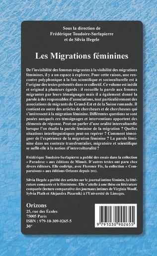4eme Les migrations féminines