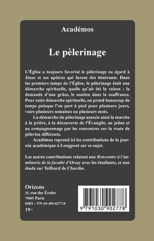 4eme Le pèlerinage