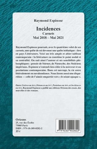 4eme Incidences