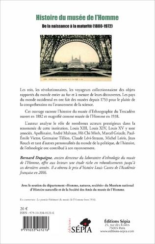 4eme Histoire du musée de l'Homme