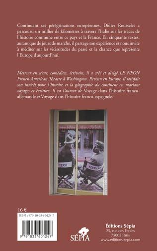 4eme Voyage dans l'histoire franco-italienne
