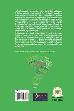 4eme Traditions, coutumes, droits en Côte d'Ivoire