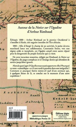 4eme Autour de la <em>Notice sur l'Ogadine</em> d'Arthur Rimbaud