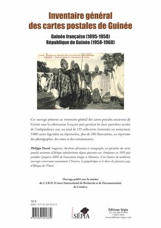 4eme Inventaire général des cartes postales de Guinée