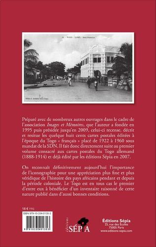 4eme Cartes postales du Togo