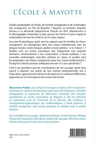4eme L'École à Mayotte