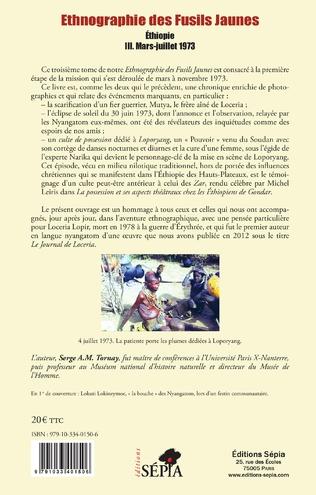 4eme Ethnographie des Fusils Jaunes Tome III
