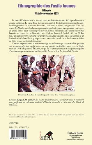 4eme Ethnographie des Fusils Jaunes