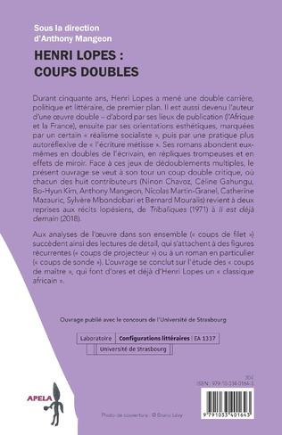 4eme Henri Lopes : Coups doubles