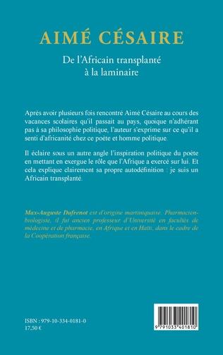4eme Aimé Césaire. De l'Africain transplanté à la laminaire