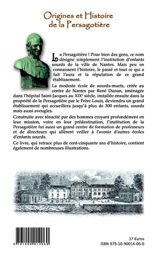 4eme Origines et Histoire de la Persagotière