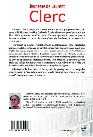 4eme Jeunesse de Laurent CLerc
