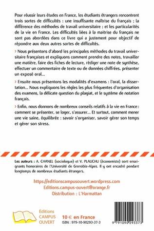 4eme Réussir ses études universitaires en France
