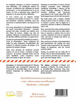 4eme Réussir ses études universitaires en France - How to succeed in your University studies in France