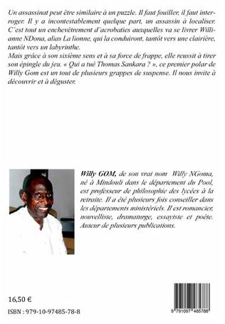 4eme Qui a tué Thomas Sankara ?
